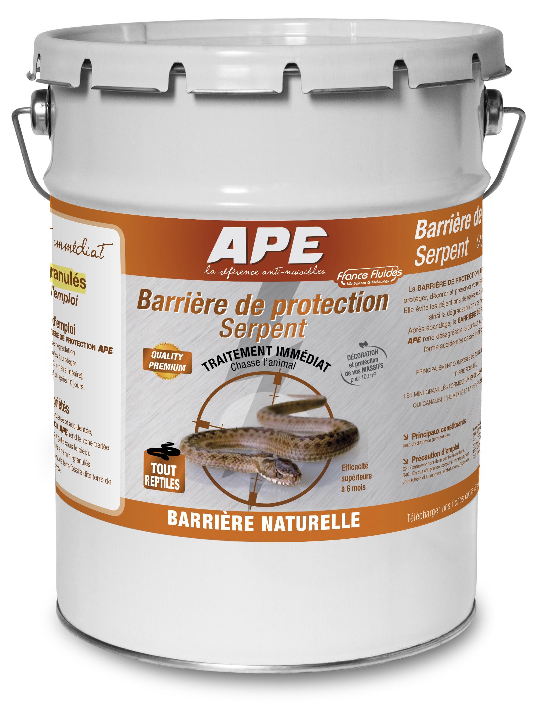 P l v ape france fluides for Barriere de protection